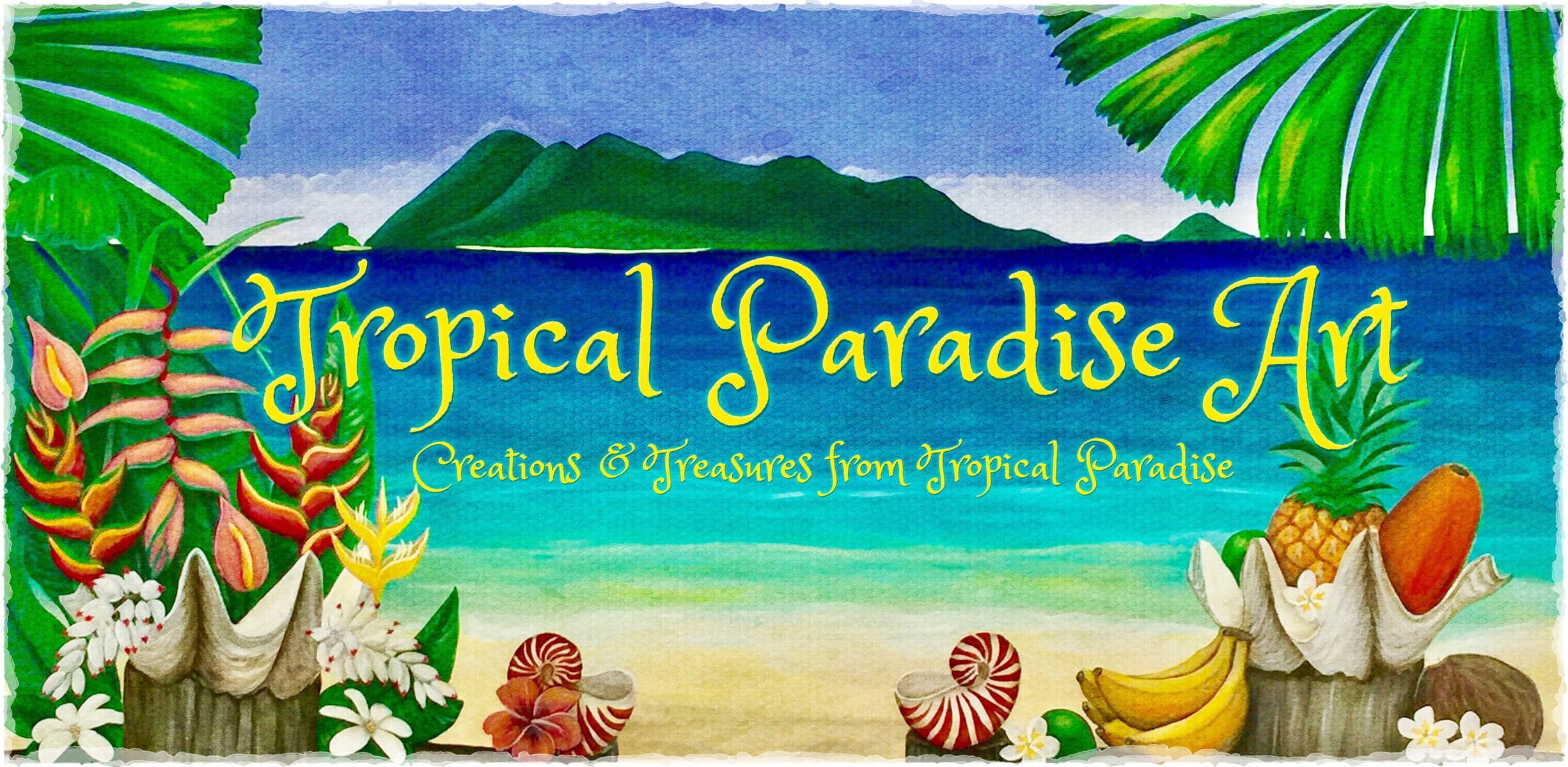 Tropical Paradise Art